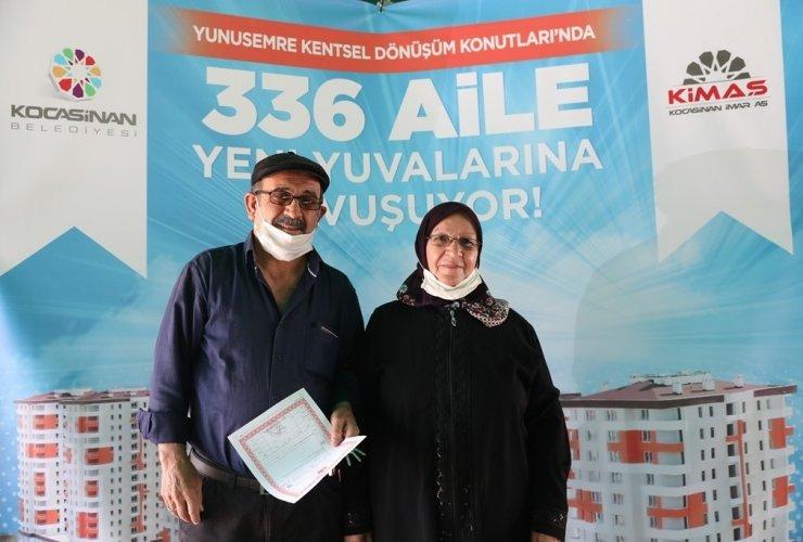 Kocasinan'da hayallerin gerçekleştiği 336 aileye anahtar teslimi büyük yankı uyandırdı