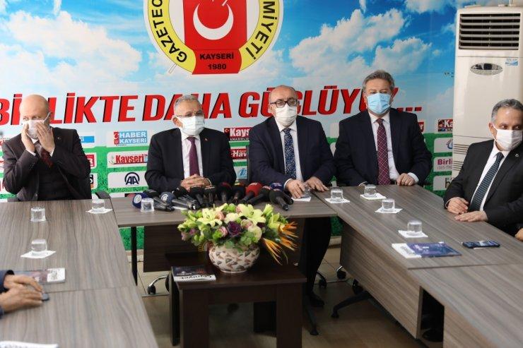 """Başkan Palancıoğlu: """"Yarışmada ödül alan gazetecileri kutluyorum"""""""