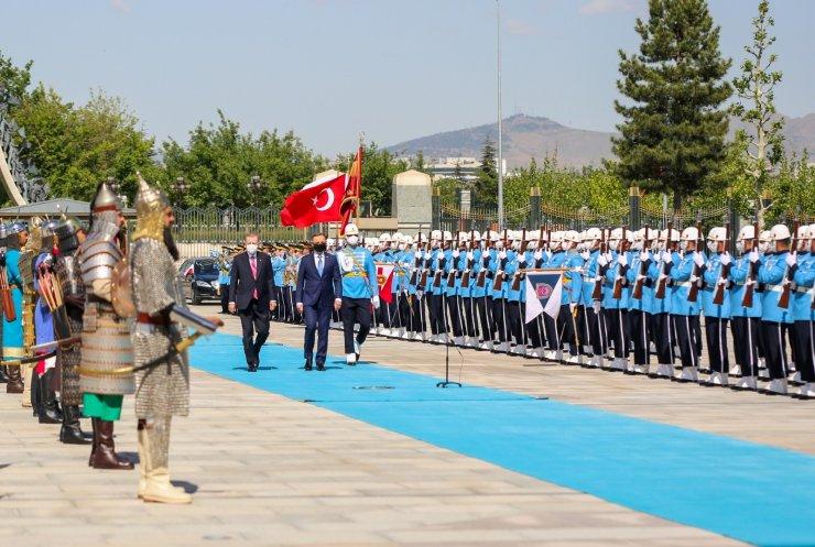 Cumhurbaşkanı Erdoğan, Polonyalı mevkidaşını resmi törenle karşıladı