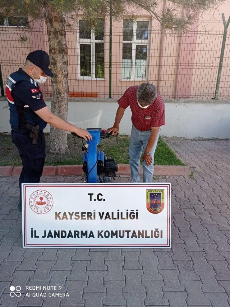 Jandarma 5 faili meçhul hırsızlık olayını aydınlattı