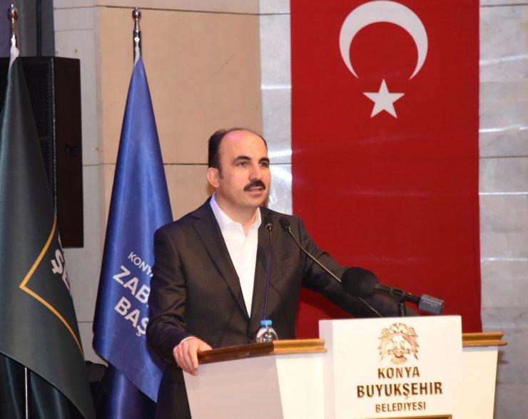 Başkan Altay, göreve yeni başlayan zabıtalarla buluştu