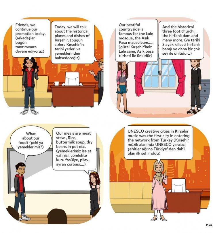 Sosyal Bilimler öğrencileri şehir kimliği oluşturuyor