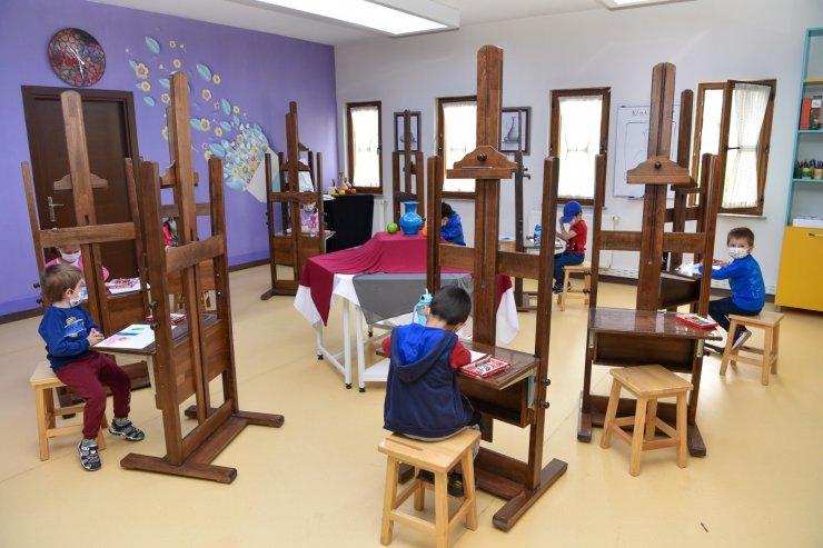 SEDEP Sanat Tasarım Atölyesinde dersler başladı