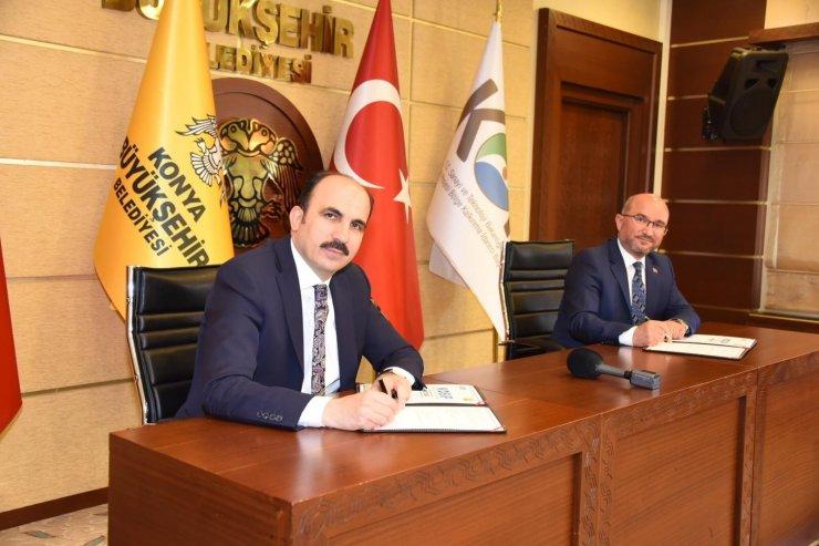 Büyükşehir-KOP iş birliğiyle 15,7 milyon liralık sulama projesi gerçekleşecek