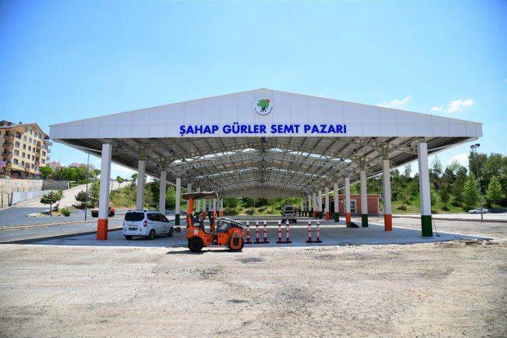 Mamak Şahap Gürler Pazaryeri açılış için gün sayıyor