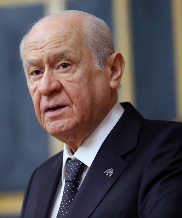 """Bahçeli: """"İçişleri Bakanı'nın yalnız olmadığını özellikle ve önemle ifade ediyorum"""""""