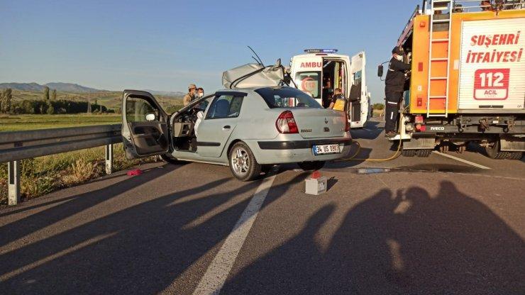 Traktöre arkadan çarptı: 2 ölü 1 yaralı
