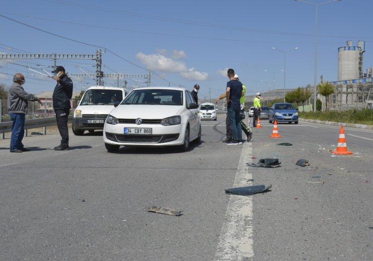 Sivas'ta zincirleme trafik kazası: 3 yaralı