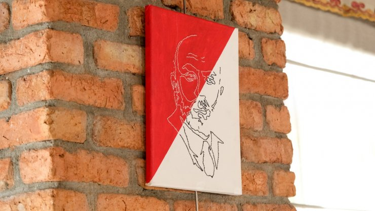 Altındağlı lise öğrencilerinden Mehmet Akif Ersoy sergisi