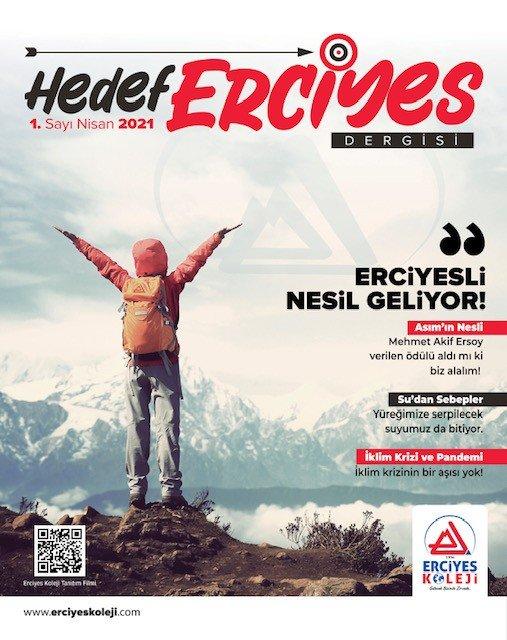 'Hedef Erciyes' dergisi yayın hayatına başladı