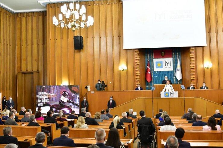 Meral Akşener, partisinin 'parlamenter sistem' önerisini açıkladı
