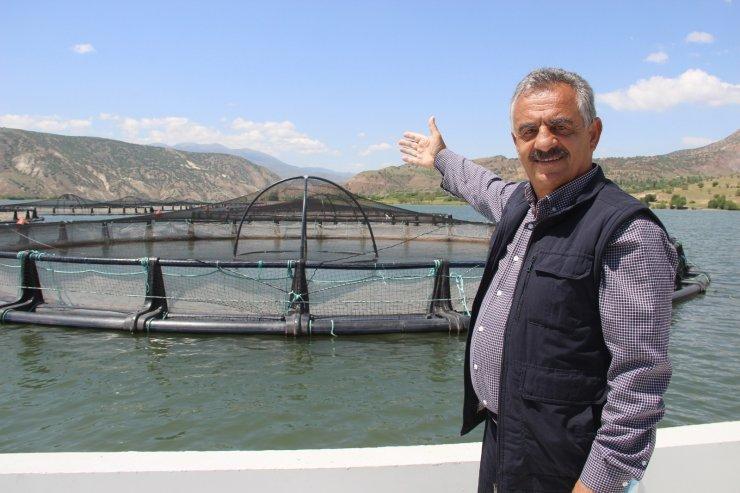Denize kıyısı olmayan Sivas'tan dünyaya somon ihracatı