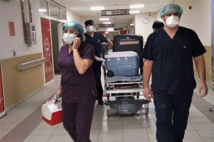 Kalp krizinden hayatını kaybeden şahsın organları 4 kişiye umut oldu