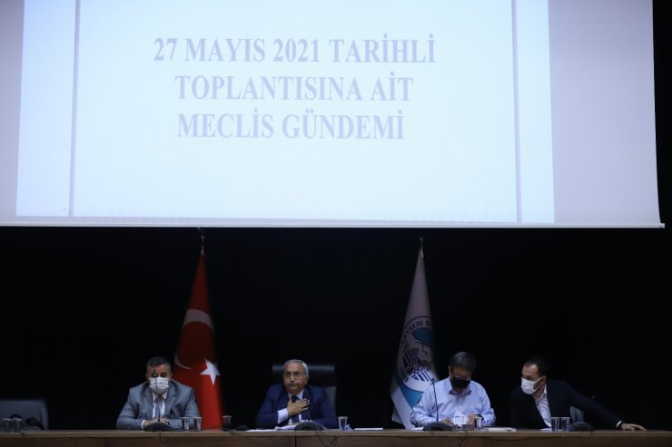 Büyükşehir Mayıs Ayı Meclisi ikinci oturumu yapıldı
