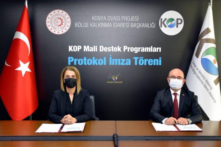 Nevşehir'in 14 projesine 10 milyon 970 bin 750 TL KOP desteği sağlandı