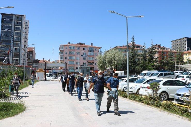 Niğde'deki FETÖ operasyonunda 6 kişi adliyeye sevk edildi