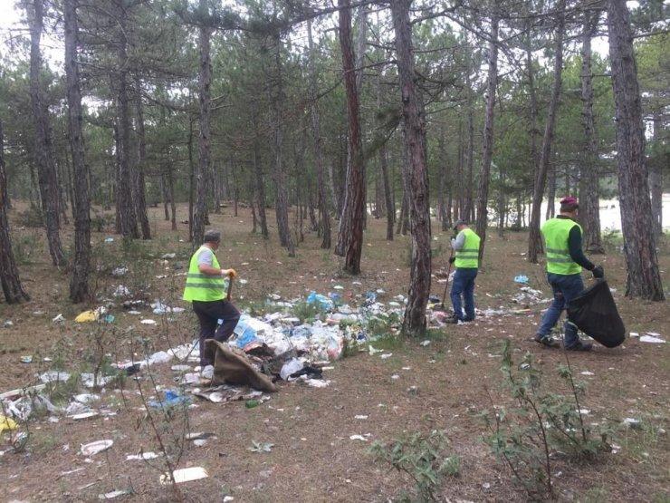 ''Ormanlar sizin çöplüğünüz değil''