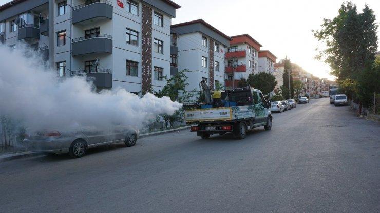 Beypazarı Belediyesi haşere ilaçlama çalışmalarını sürdürüyor