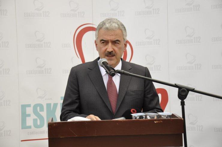 Sağlık Bakanlığından Eskişehir'e 9 adet ambulans