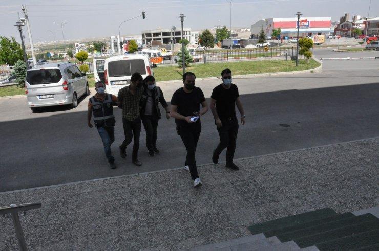Karaman'da 20 yıl hapis cezası bulunan şahıs yakalanarak tutuklandı