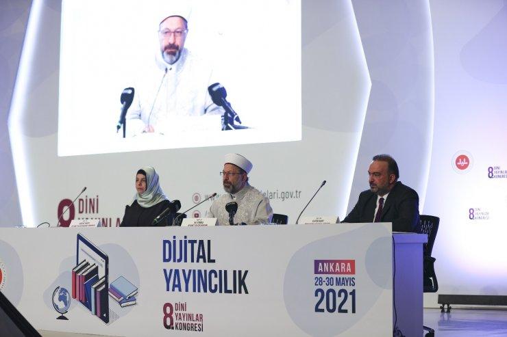 """Ali Erbaş: """"Gelişen teknoloji, yayıncılıkta da dijitalleşmeyi bir zorunluluk haline getirmiştir"""""""