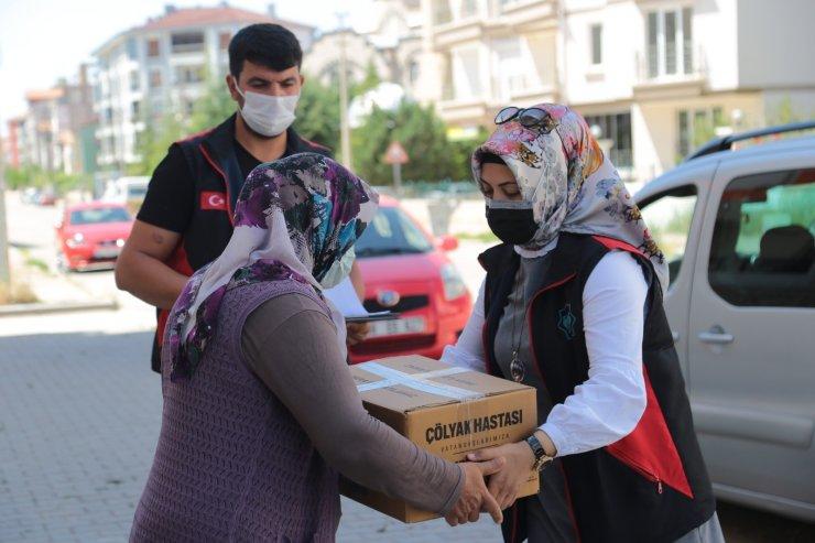 Aksaray'da çölyak hastalarına glütensiz gıda desteği devam ediyor