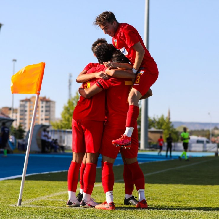 U19 Süper Ligi: Kayserispor-Erzurumspor: 2-1