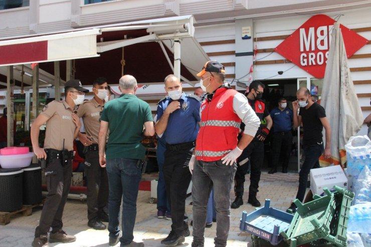 Karaman'da üzerine yük asansörü düşen market sorumlusu öldü
