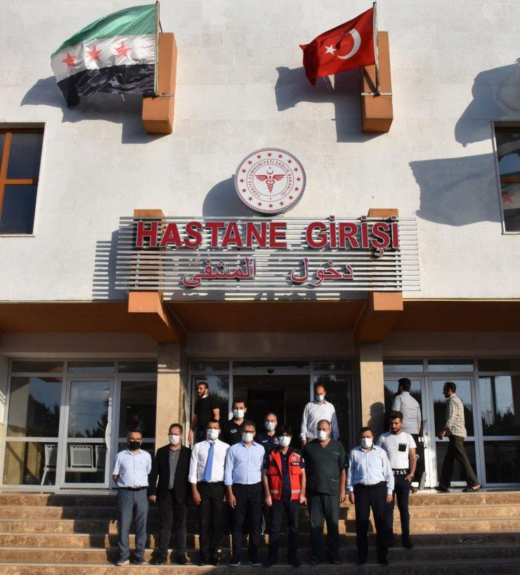 Rektör Prof. Dr. Aksoy Suriye'de çeşitli temaslarda bulundu