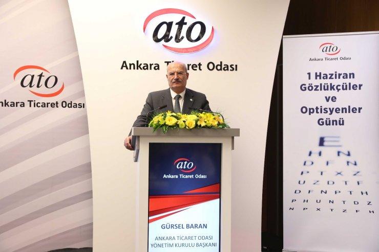 Gözlükçüler ve Optisyenler Günü ATO'da kutlandı