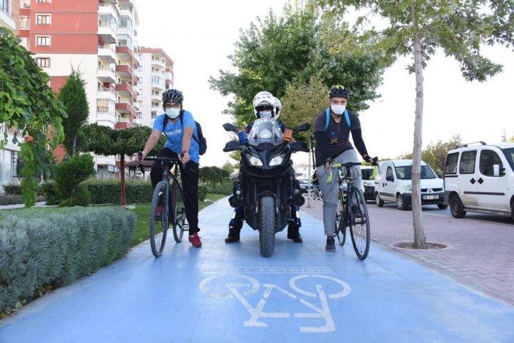 Havaların ısınmasıyla bisikletçilerde hareketlilik başladı