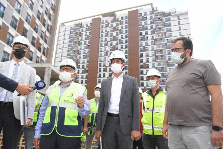 1 ay içinde 60 yapı yıkılarak temizlenecek