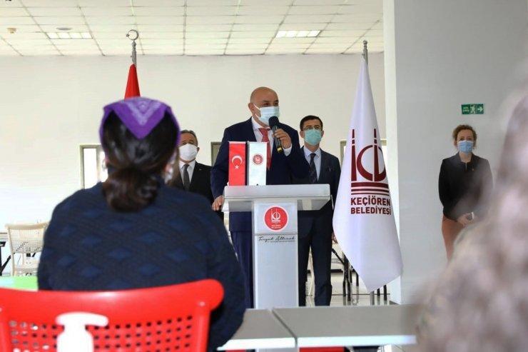 """Keçiören Belediye Başkanı Altınok'tan gençlere: """"İkbalimiz ve istikbalimiz sizlersiniz"""""""