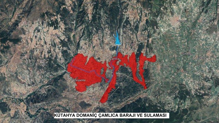 Gediz Yunuslar Barajı sulaması ve Domaniç Çamlıca Barajı sulamasının sözleşmeleri imzalandı