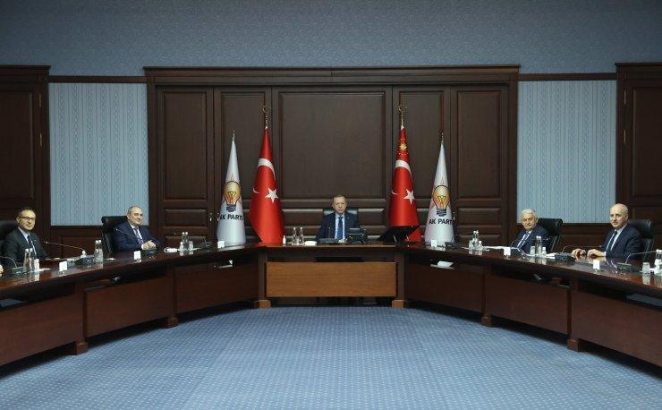 Cumhurbaşkanı Erdoğan, Yeni Azerbaycan Partisi heyetini kabul etti