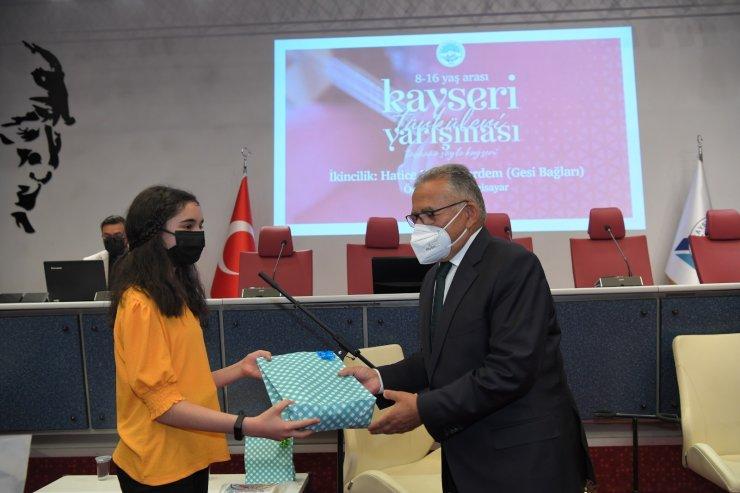 Büyükkılıç, Kayseri Türkileri Yarışması Ödül Törenine Katıldı