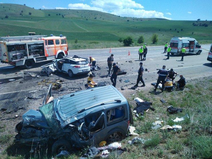 Sivas'taki kazada ölen 9 kişinin kimlikleri belirlendi