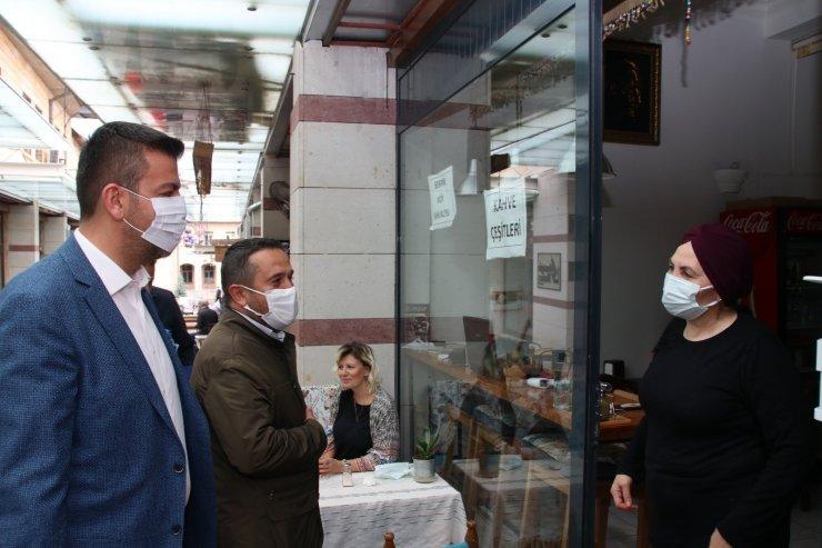 Ürgüp Belediye Başkanı Aktürk, esnaf ziyaretlerinde bulundu