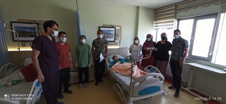 Tomarza devlet Hastanesi'nde ameliyatlar yeniden yapılmaya başladı