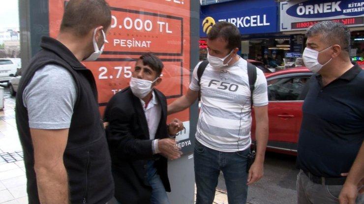 Kayseri'de zabıtadan 'dilenci' operasyonu