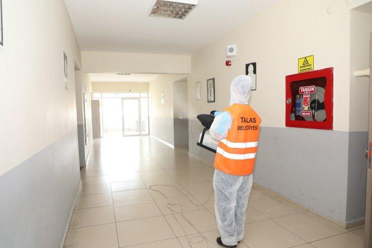Talas'ta okullar hem LGS'ye hem yüz yüze eğitime hazır