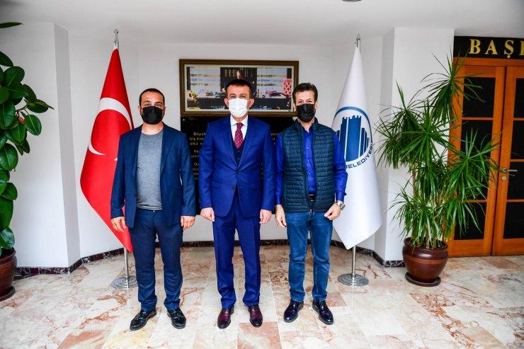 Altındağlı esnaftan Başkan Balcı'ya teşekkür ziyareti