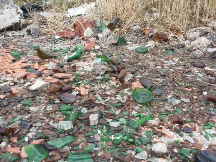 Eskişehir'de Dünya Çevre Günü'ne yakışmayan manzaralar