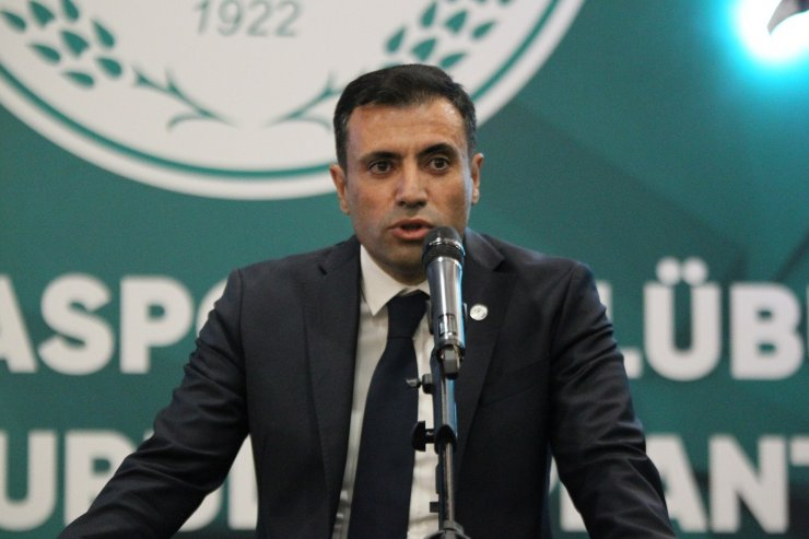 Konyaspor'da yeni başkan Fatih Özgökçen oldu