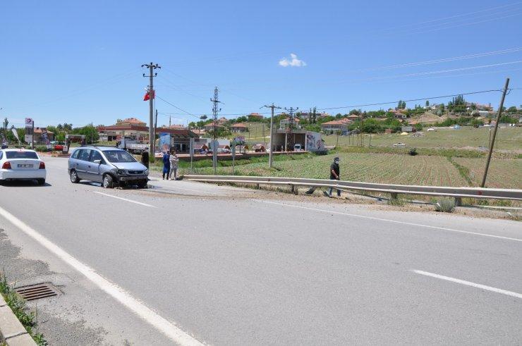 Gemerek'te kaza: 1 yaralı