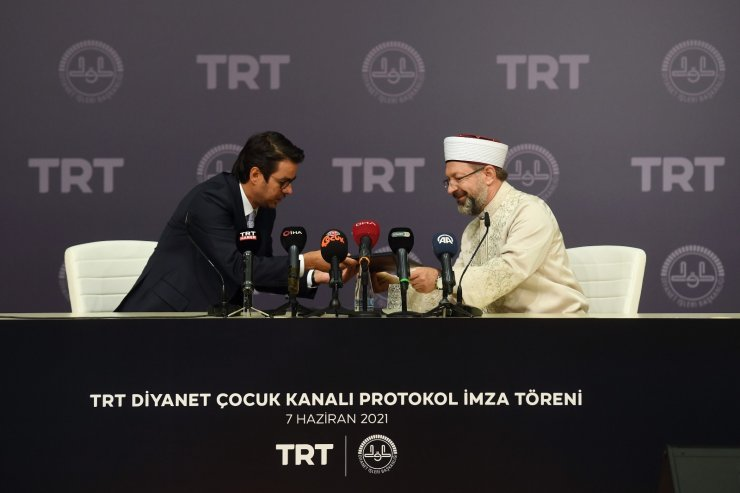 TRT ve Diyanetten ortak proje: TRT Diyanet Çocuk