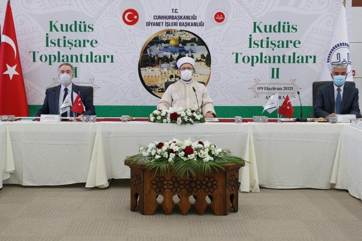 """""""2. Kudüs İstişare Toplantısı"""" Ankara'da başladı"""