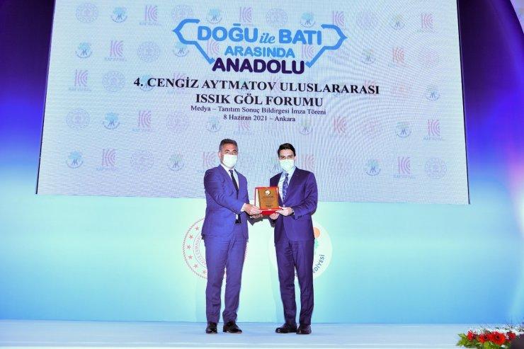 Mamak, 4. Cengiz Aytmatov Uluslararası Issık Göl Forumu'na ev sahipliği yaptı