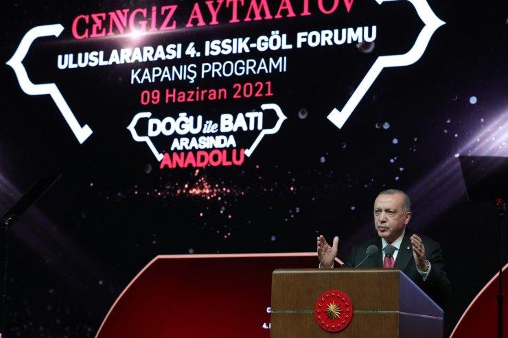 """Cumhurbaşkanı Erdoğan: """"O ulu çınarın altında büyük bir aile olarak toplanıyoruz"""""""