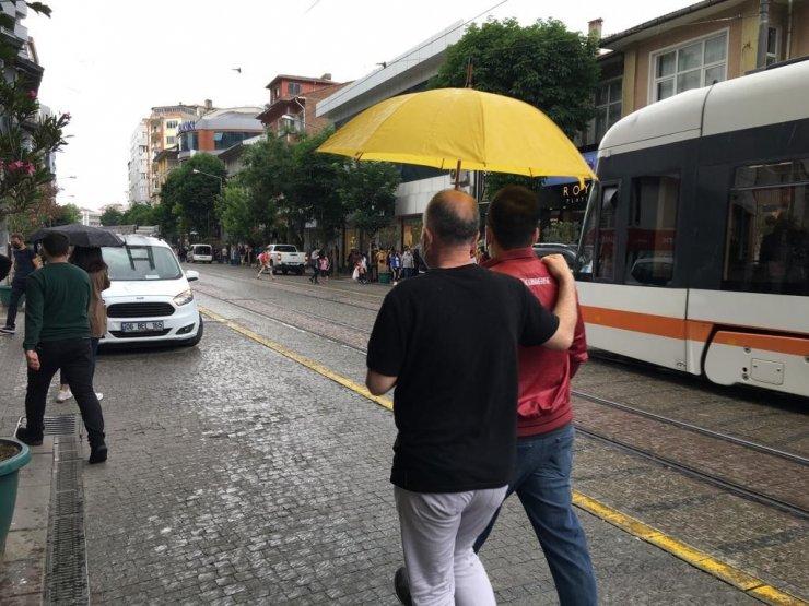 Eskişehir'de yağmur maratonu